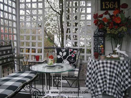 Privacy Porch Front Ideas Pictures