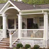 Front Porch Railings: From Wood Deck Railings to Aluminum ...