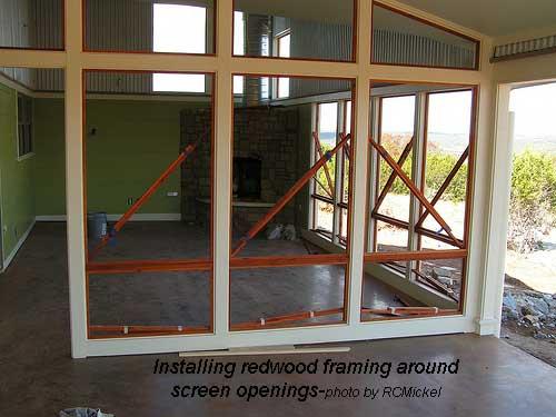 install frames