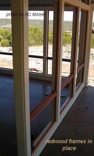 redwood frames