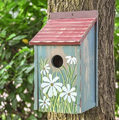 Retro bird house
