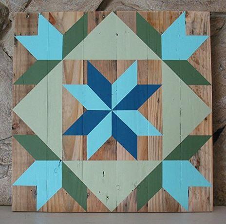 Blue Barn Quilt