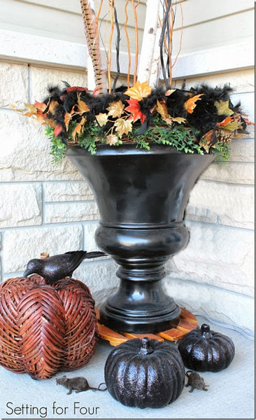 25 Bloggers Fall Porch Tours Outdoor Fall Decorating