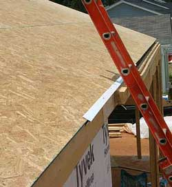 Different types of roofing material roof construction for Roof sheathing material options