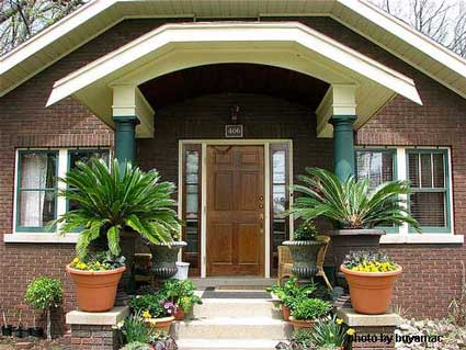 small porch decor 1 - 15+ Small House Front Porch Design  Pics