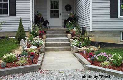 Small porch designs can have massive appeal for Small front porch landscaping ideas