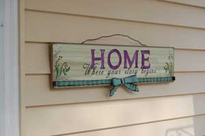 Small Porch Sign