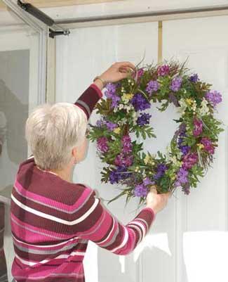 Small Porch Wreath