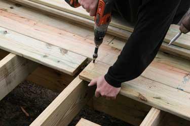 Southern Yellow Pine Porch Decking