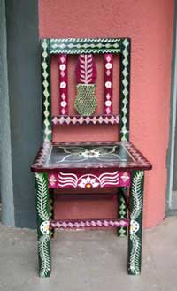 Southwest furniture southwestern furniture outdoor for Native american furniture designs