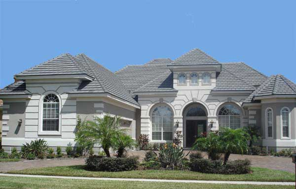 Arched portico and windows- Plan 40037