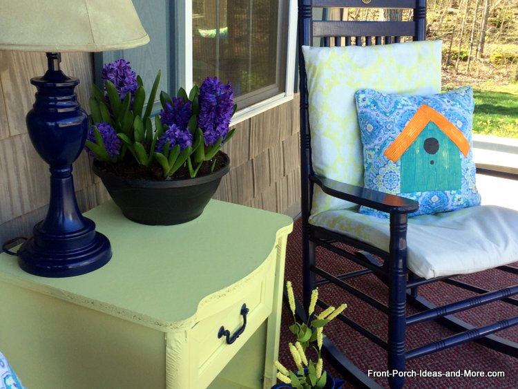 Spring Porch Decorating Ideas Birdhouses