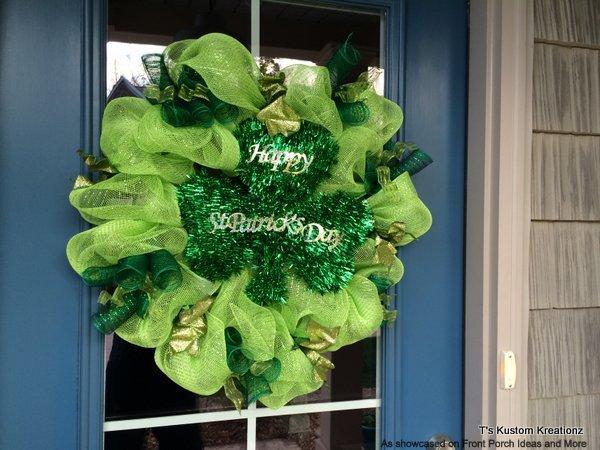 Decorative St. Patrick wreath