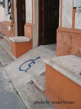 extreme wheelchair ramp slope