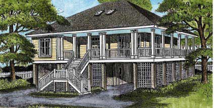 Coastal Home Plans from the nations top house plan designers.