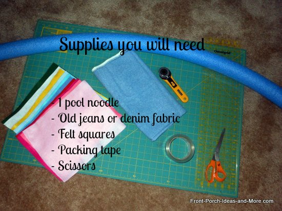 supplies needed for wreath project