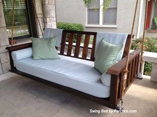 Cool Porch swing bed by The Porch Company