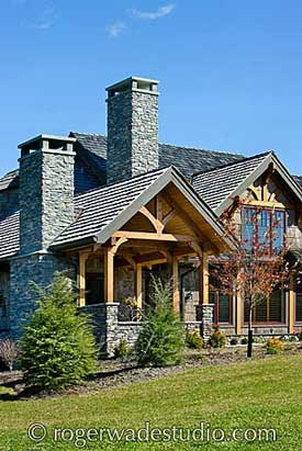 Timber frame home design, Log home pictures, Log home design