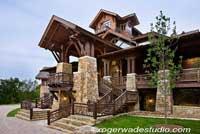 Pioneer Log Home