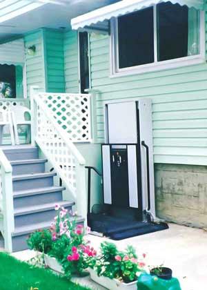 Wheel Chair Porch Lift Bruno Wheel Chair Lifts