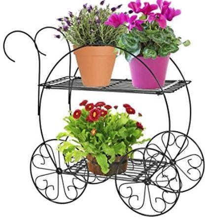 Two tier garden cart