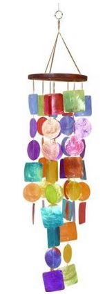 multi-color urban windchime from amazon