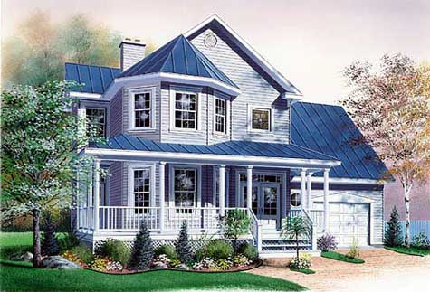 Small wrap around makes this Victorian quaint