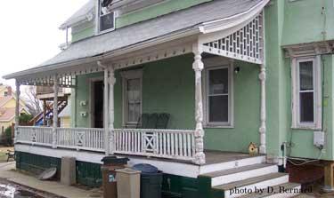 Victorian porch needing repairs