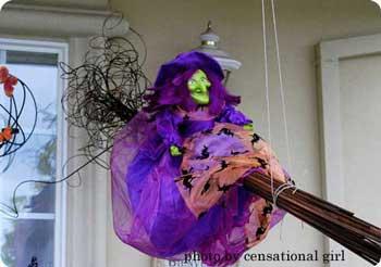 Vintage Halloween Witch