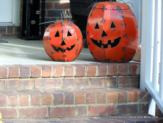 vintage jack o lanterns - Metal Halloween Decorations
