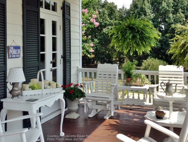 Loretta's porch photo