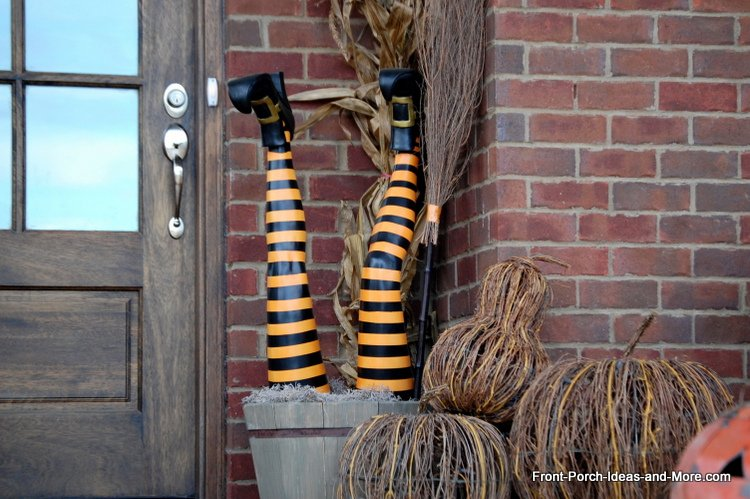 witch legs made from leggings