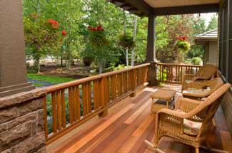 wooden porch plans