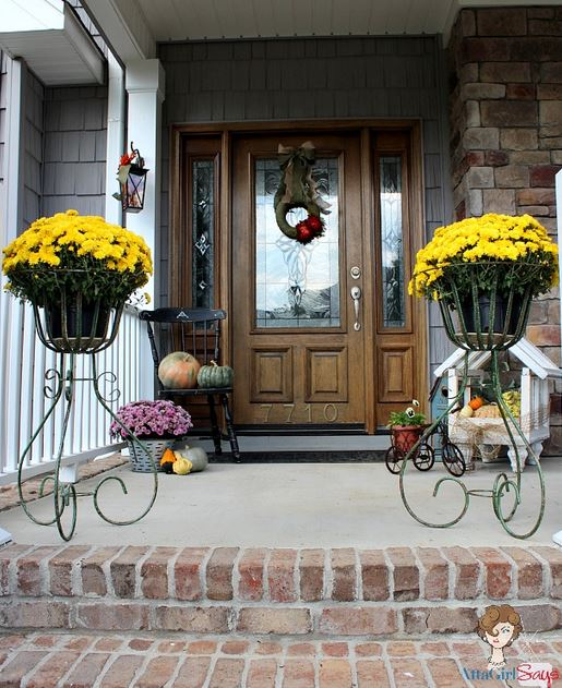 Simple Fall Decorating Ideas from Atta Girl Says