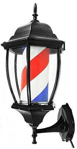 Barbor style porch light is fun - from Amazon