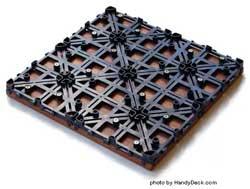 Interlocking deck tiles picture