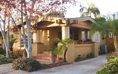 California Bungalow Porch