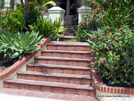 beautiful porch steps in Echo Park California