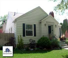 Porch designs - cottage before