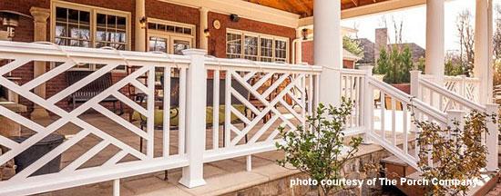 custom railings for porch