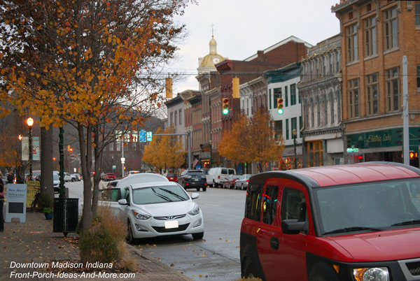 picture of downtown Madison Indiana 2016