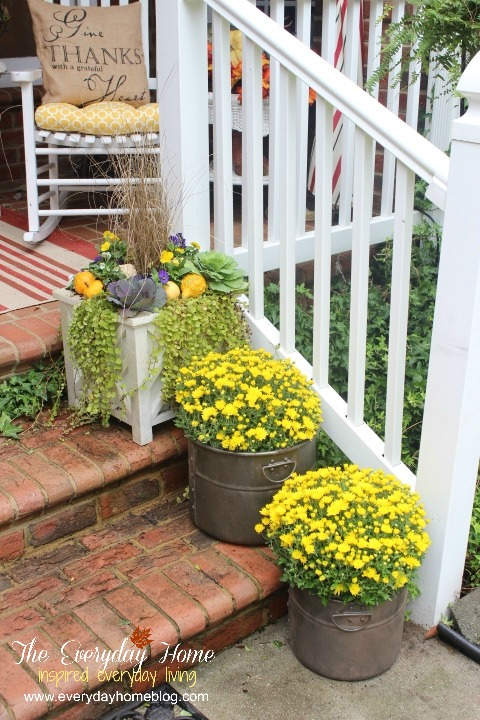 Every Day Home Blog Fall Front Porch