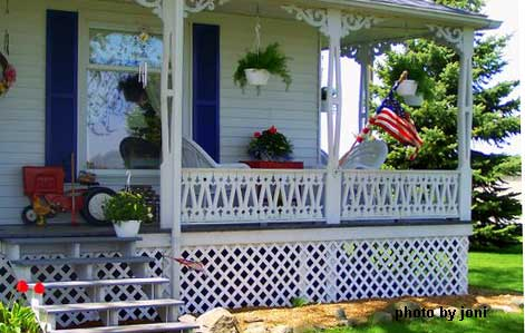 Joni's farmhouse porch
