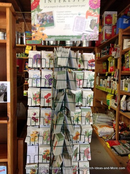 Seed packets galore