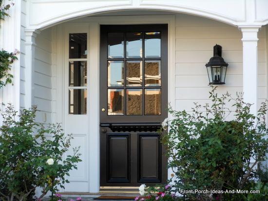 newport beach california front door style in black