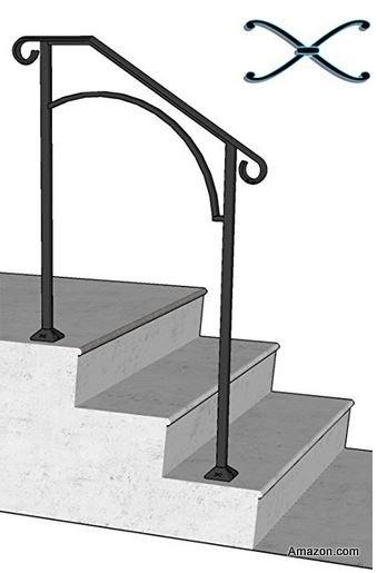 DIY Porch Handrail from Amazon