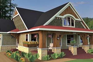 See wonderful house plans that include porches.
