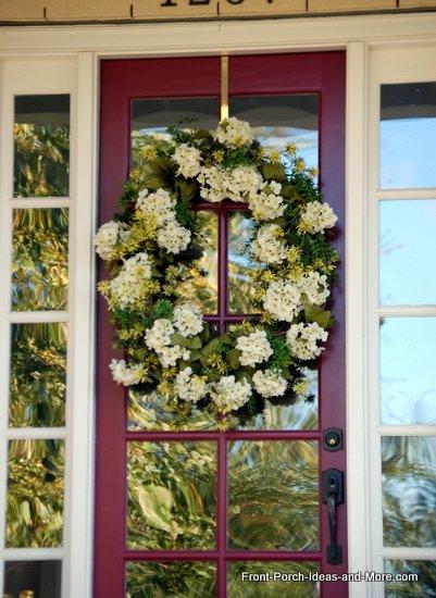 natural fall wreath