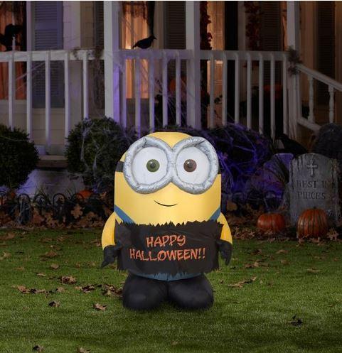 inflatable minion bob for halloween