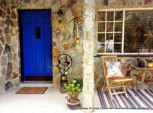 Leisa Collins beautiful Florida porch